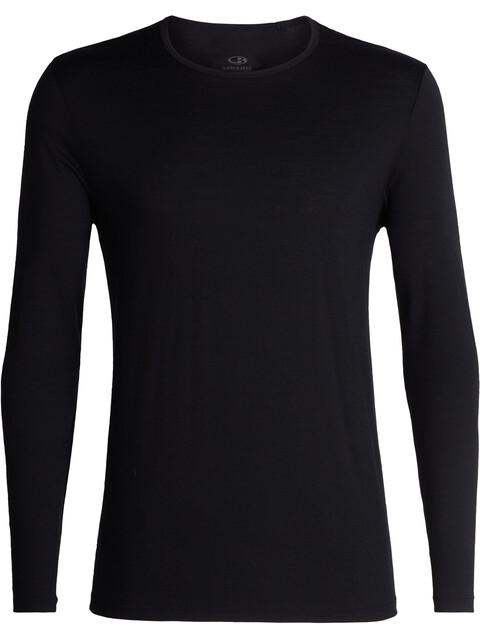 Icebreaker M's Tech 200 LS Crewe Shirt black
